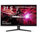 LG ゲーミングモニター ディスプレイ 32GK850F-B 31.5インチ/WQHD/VA非光沢/DisplayHDR400、FreeSync2対応/144Hz/DP・HDMI/高さ調節・ピボット