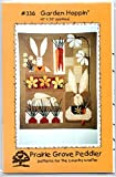 Garden Hoppin' Wall-Hanging Quilt Pattern from Prairie Grove Peddler 40' x 50' - 336 Easter Rabbit