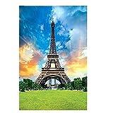 ahjs457 Puzzle 1000 Piezas niños Juguetes educativos Patrón de construcción de la Torre Eiffel Adultos Juego de decoración del hogar