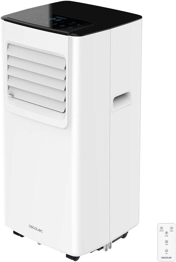 Cecotec Aire Acondicionado Portátil con Mando a Distancia y Temporizador