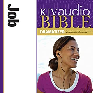 Dramatized Audio Bible - King James Version, KJV: (17) Job audiobook cover art