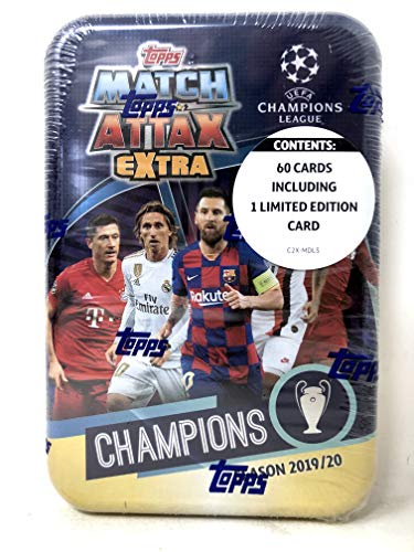 Topps Crystal liga de campeones 2019//2020 1 X Display//24 Booster 19//20