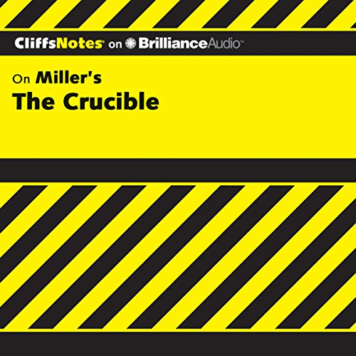 Couverture de The Crucible: CliffsNotes