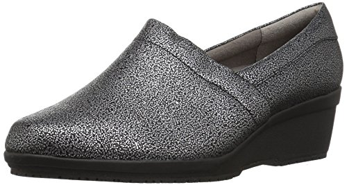 LifeStride Women's Klass Work Shoe,black sparkle,6.5 M US
