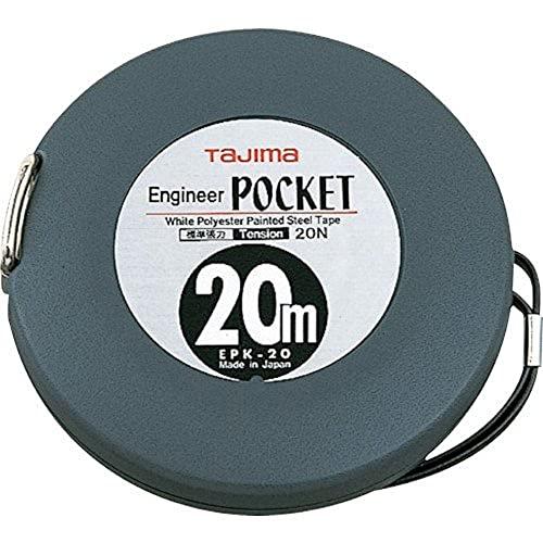 タジマ(Tajima) エンジニヤ ポケット 幅10mm 長さ20m 張力20N EPK-20BL