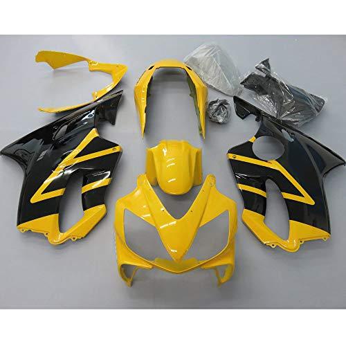 ZXMOTO Black & Yellow Fairing Kit for Honda CBR 600 RR F4I 2004 2005 2006 2007