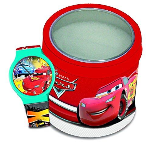 CARS - Reloj de pulsera analógico en caja de metal.