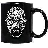 N\A Breaking Bad The Study of Change Heisenberg TV Walter-White Movie Tazza da caffè Divertente per Donne e Uomini