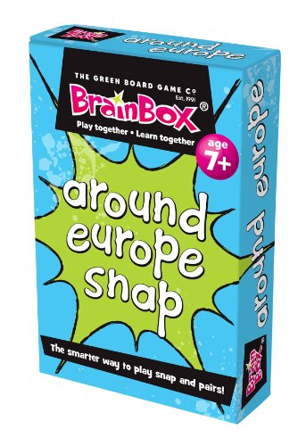 The Green Board Game Co. Ganz Europa Snap