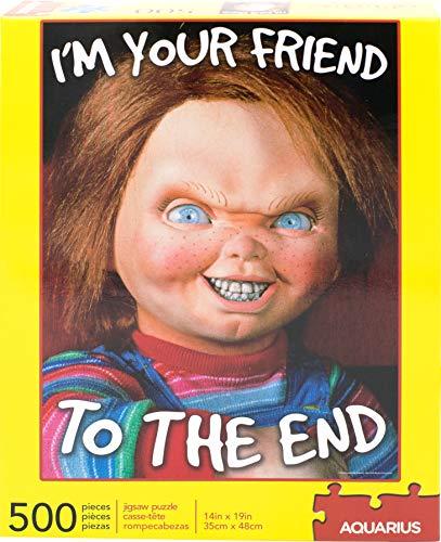 AQUARIUS Child'S Play Chucky Friend 500 pc Puzzle