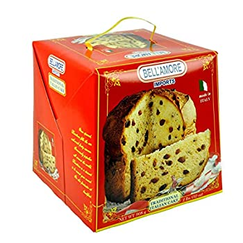 Panettone Bellamore Traditional Italian Cake From Italy 2lbs/32oz