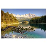 artboxONE Poster 60x40 cm Natur Am Eibsee in Bayern