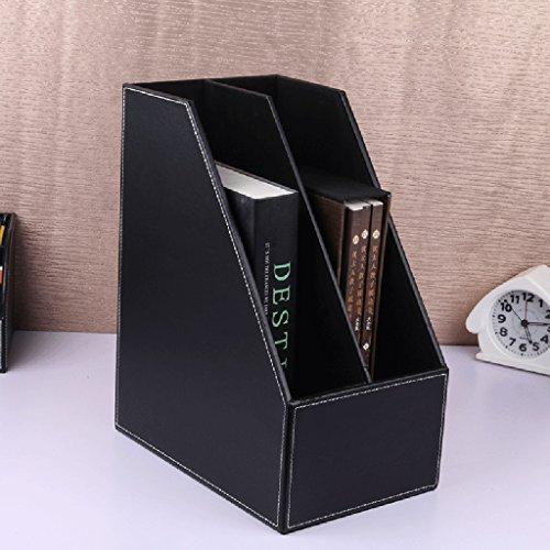 Fichier Boîte Panier Triple File Frame Données Stand Livre Dossier Creative Desktop Fournitures de bureau Etagères (Couleur : # 2)