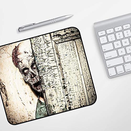 para Ratón con Cable o Inalámbrico,Zombie Decor, Dead Man in Abandoned Old...