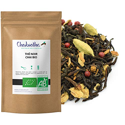 Té Negro Chai BIO 200g - orgánico bolsa biodegradable