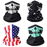 Neck Gaiter Bandana Face Mask Head Wrap Mouth Cover for Fishing,Sports 97312-C