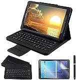 XIANNV Élégant Coque de Clavier pour Samsung Galaxy Tab A 9.7 SMT550 SMT555 SMP550 SMP550 sans...