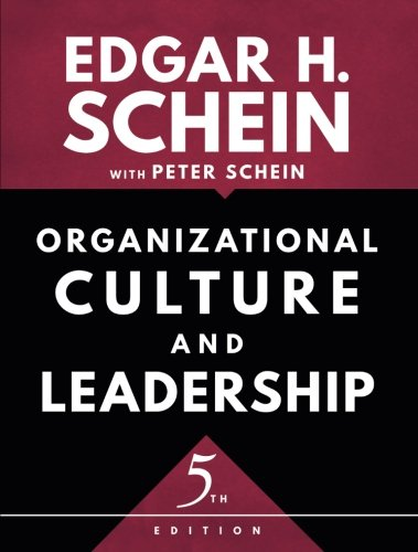 Compare Textbook Prices for Organizational Culture and Leadership The Jossey-Bass Business & Management Series 5 Edition ISBN 9781119212041 by Schein, Edgar H.,Schein, Peter A.