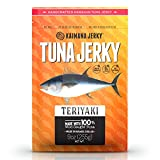 Kaimana Wild-Caught Ahi Tuna Jerky - Teriyaki | Rich in Omega-3s & High in Protein | All-Natural &...