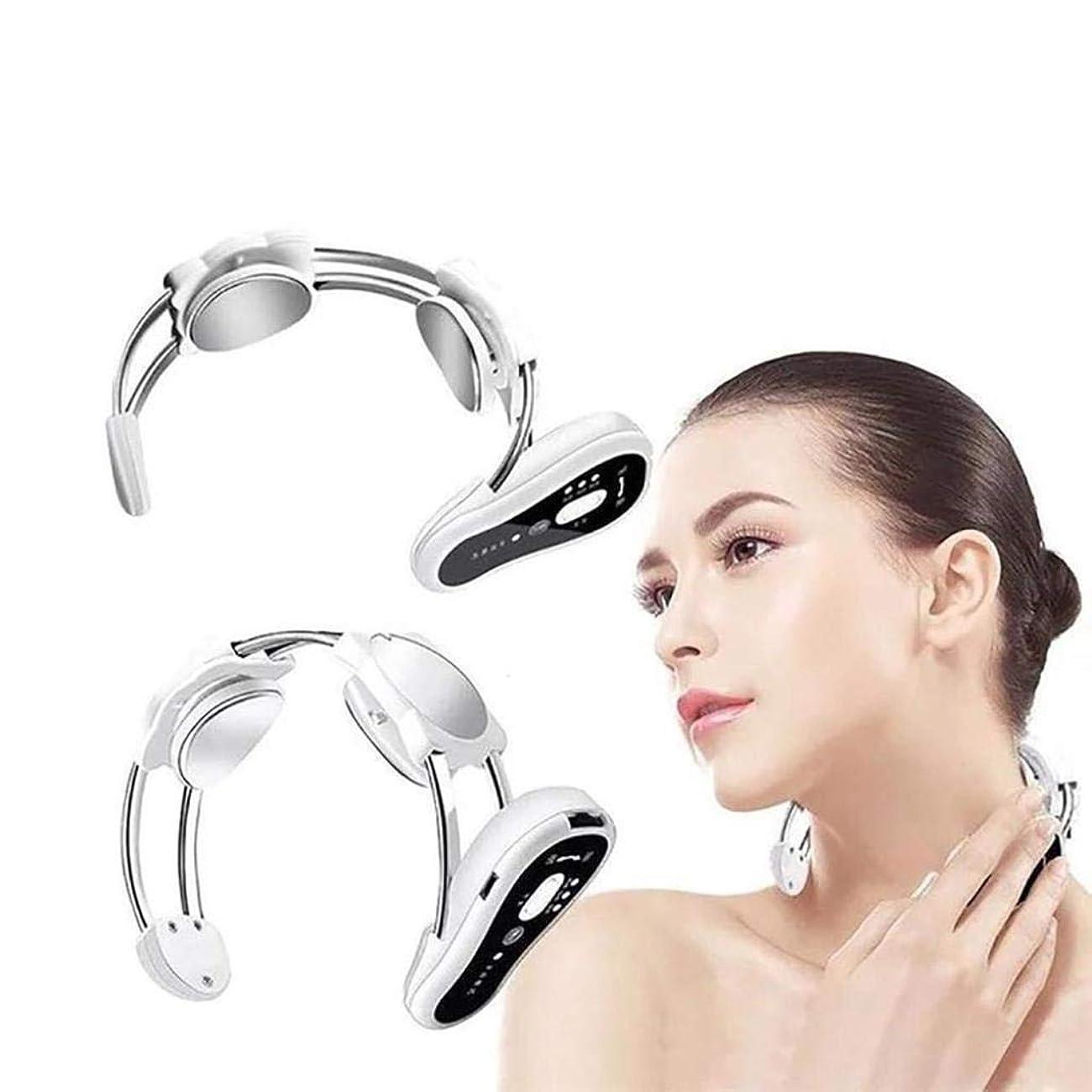 アート少しマイルストーン首のマッサージャー、電気首の処置の器械、頚部の刺鍼術の処置、磁気マッサージャー