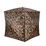 Vulture Pop-up Portable 2 Person Ground Hunting Blinds, 48 x 48 x 65...