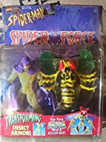 Spider-Man Spider Force Swarm with Transforming Insect Armor Action Figure