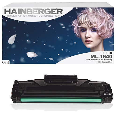 Toner hainsberger per Samsung ML-1640 con Chip - nero, compatibile con D1082S/ELS, adatta per Samsung ML 1640 Samsung ML 2240