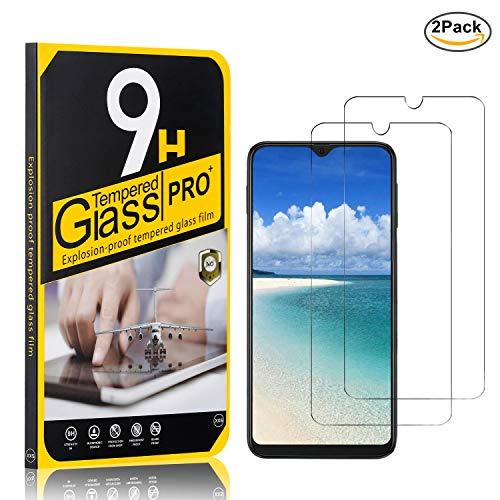 2 Piezas SONWO Galaxy J6 Plus 2018 Cristal Vidrio Templado Templada Protector de Pantalla para Samsung Galaxy J6 Plus 2018 F/ácil de Instalar Screen Protector Anti-ara/ñazos