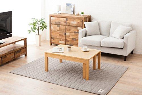 エムール〔ウォルカ〕木製エクステンションテーブル/伸長式テーブル約60×90~150cmSサイズアッシュ