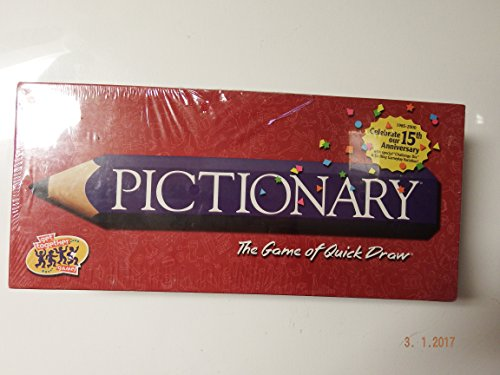 Pictionary, the Game of Quick Draw