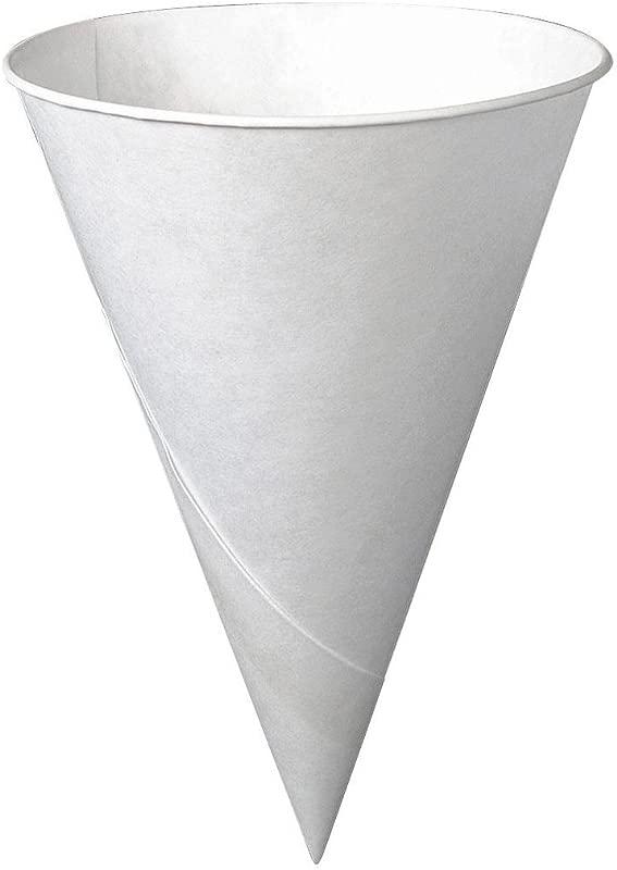 SOLO 6R 2050 Wht Cone Cup 6Oz 200Ct