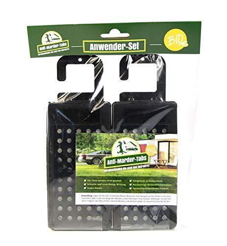 GreenCare Anti Marder Tabs Bio - natürliche Marderabwehr und Schutz für Innen- und Außenbereiche - 380g