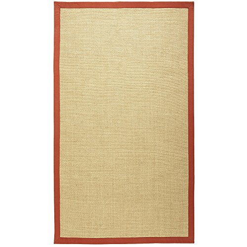 Pier 1 Imports Alona Spice Red 4x6 Indoor or Outdoor Patio Hand-Woven Rug