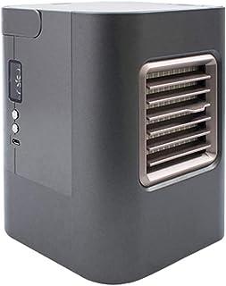 JIERTYU Refrigerador De Aire, Mini Refrigerador De Aire USB, Aire Acondicionado Portátil Pequeño Y Humidificador De Aire, Ventilador De Mesa Pequeño para Dormitorio De Oficina En El Hogar
