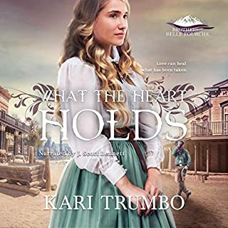 What the Heart Holds     Brothers of Belle Fourche, Volume 2              Written by:                                                                                                                                 Kari Trumbo                               Narrated by:                                                                                                                                 J. Scott Bennett                      Length: 3 hrs and 39 mins     Not rated yet     Overall 0.0