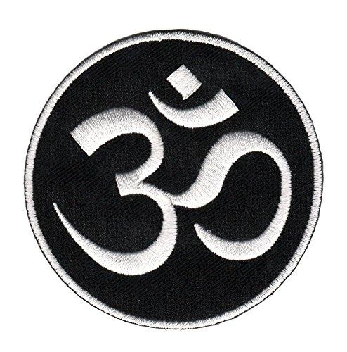 Hindu Zeichen Om Aufnäher Bügelbild