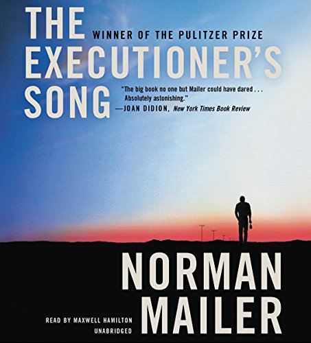 The Executioner's Song audiobook cover art
