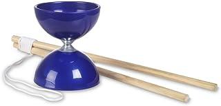 BuitenSpeel B.V.-Coordination Juego Compacto Outdoor: Diabolo, Color Azul, 43 cm x 11 cm x 18 cm (BS Toys_GA305)