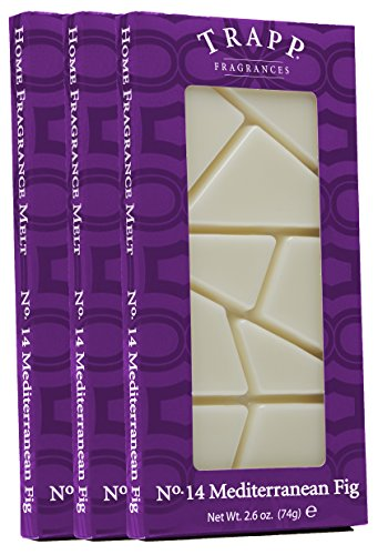 Trapp Home Fragrance Melt, No. 14 Mediterranean Fig, 2.6-Ounce, 3-Pack