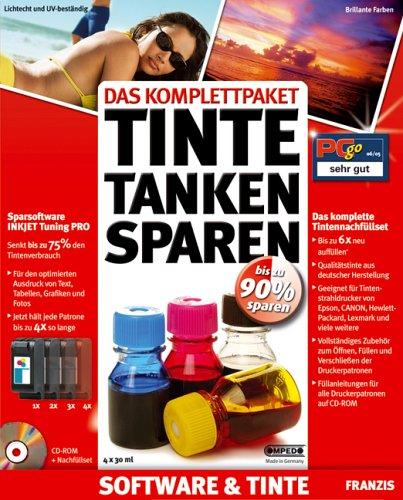 Das Komplettpaket Tinte Tanken Sparen