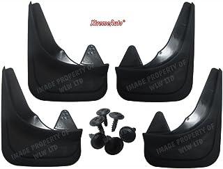 XtremeAuto–Faldón Guardabarros frontal y trasero para coche completo con portátil adhesivo–xamudflaps14
