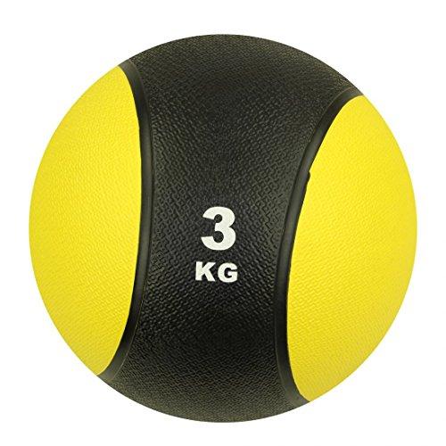 Carnegie 3 kg Medizinball Fitnessball Gymnastikball Crossfit-Ball Krafttraining