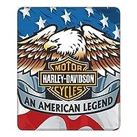 Harley-Davidson ハーレーダビッドソン マウスパッド ゲーミングマウス 光学式 滑り止めゴム底 周辺機器 オフィス最適 おしゃれ 防水 耐久性が良い ゲーム用
