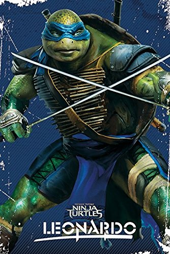 Poster Teenage Mutant Ninja Turtles - Leonardo - 61 x 91.5 cm | PostersDE