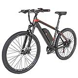 Clouds 350W Bicicleta eléctrica para Adultos, aleación de Aluminio de E-Bici de la Bicicleta, extraíble 48V / 10Ah de Iones de Litio de la batería conmuta ebike, para Adolescentes/Adultos