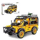 ColiCor Technic Maqueta del Nuevo Modelo de Todoterreno, 1053pcs Modelo de 4x4 rcpara Coche Bloques Kits para Land Rover Defender, Compatible con Lego Technic