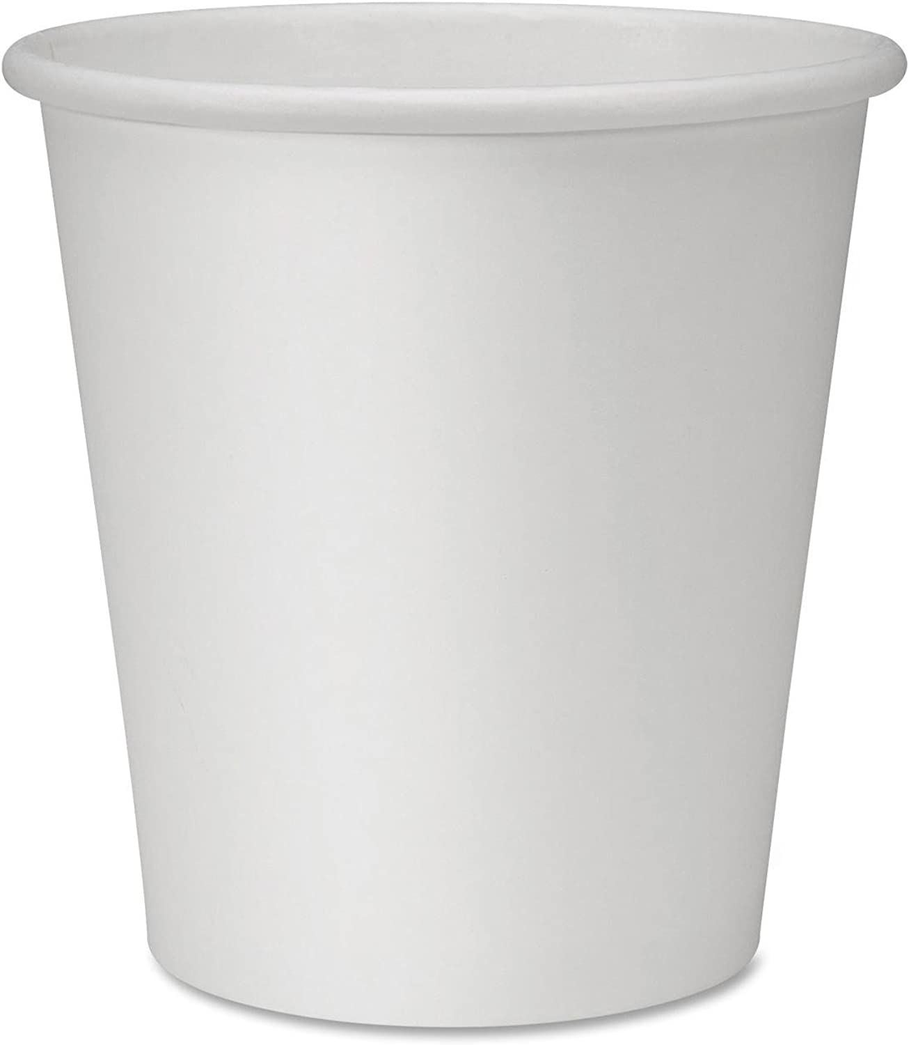 Genuine Joe GJO19046CT Polyurethane-Lined Single-Wall Disposable Hot Cup, 10-Ounce Capacity, White (Carton of 1000)