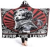 Bobbie McLendon The Walking Dead Fear La Couverture LivingHooded 3D Print Super Soft...