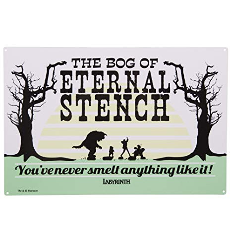 TruffleShuffle Labyrinth Bog of Eternal Stench Metal Sign