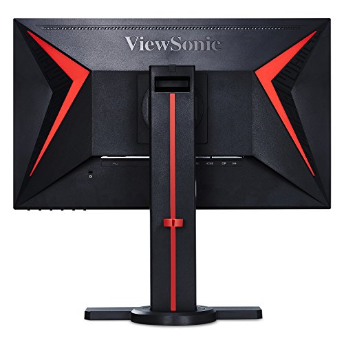 ViewSonic XG2402 24 Inch 1080p 1ms 144 Hz Gaming Monitor with FreeSync Eye Care Advanced Ergonomics ColorX Mode HDMI and DP for Esports